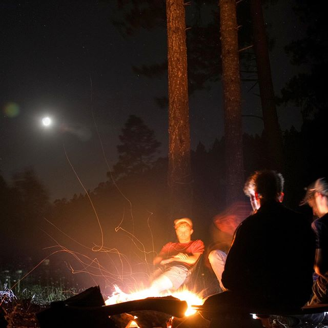 The best of times. #trailbuilding #camping