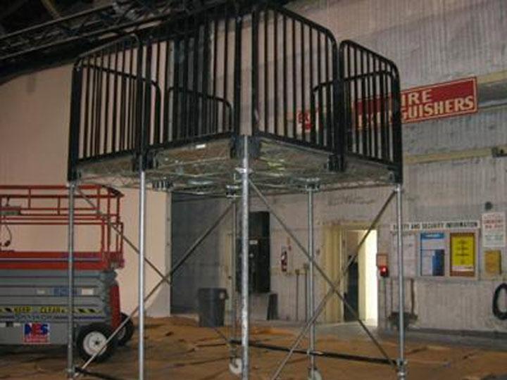 Steel Deck Platform Rental