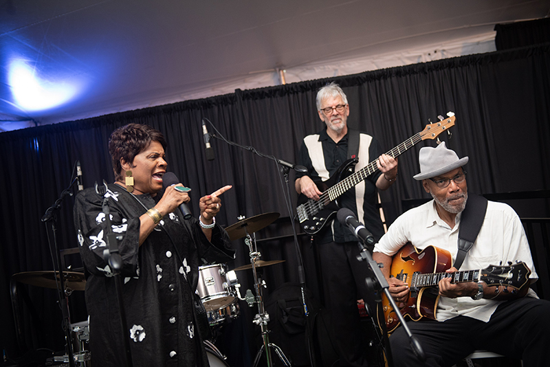 Phil Young House of Blues Experience also provided live entertainment at the HARLEM WEEK Reception.