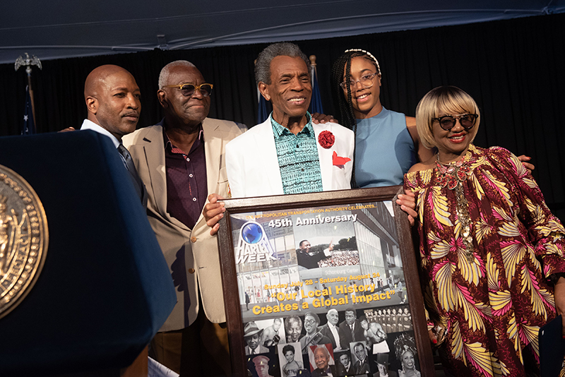 André De Shields, a broadway actor, was honored by The Greater Harlem Chamber of Commerce.