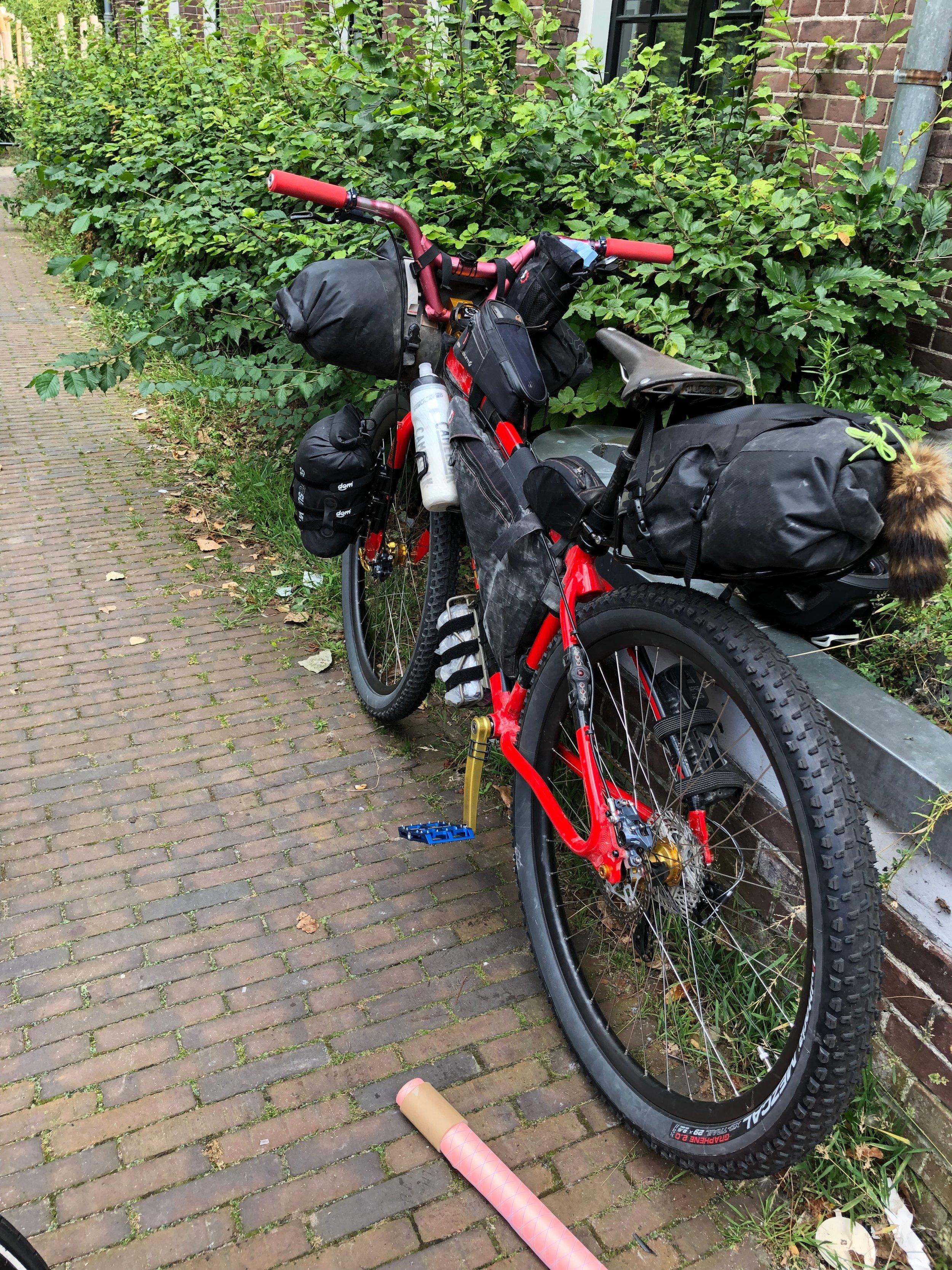 Aaron's Bikepacking Rig