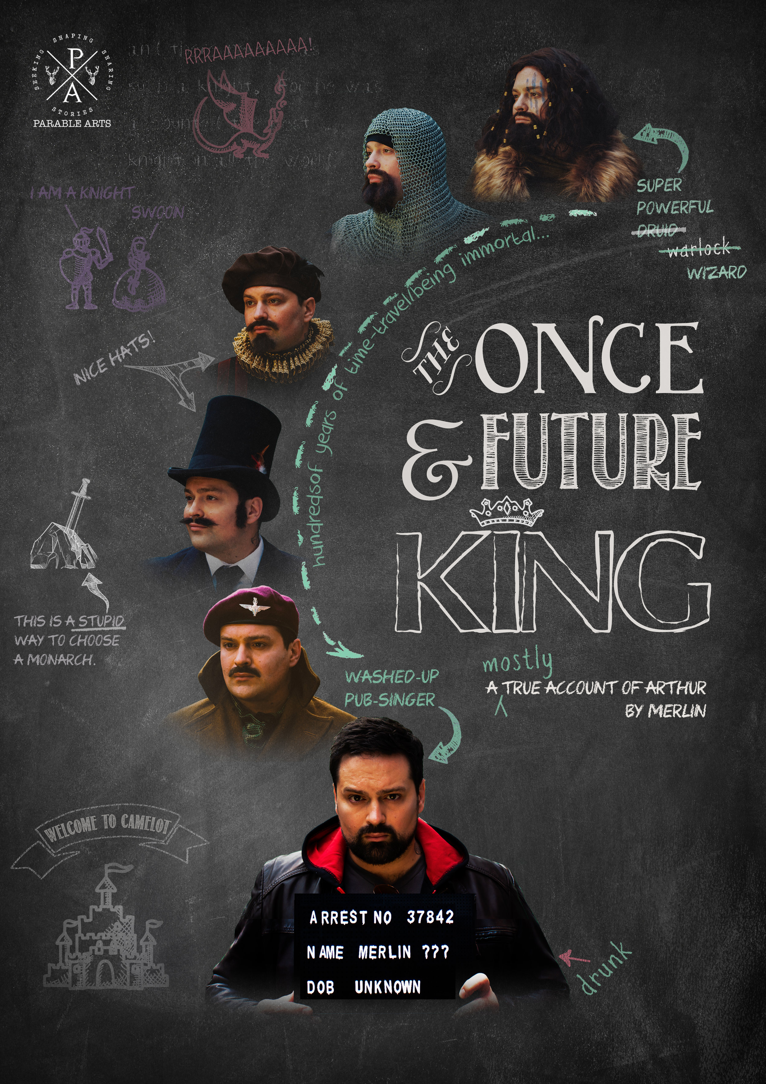 Parable Arts - The Once and Future King poster without baseline