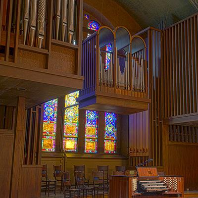 Tour First Church, Virtually -