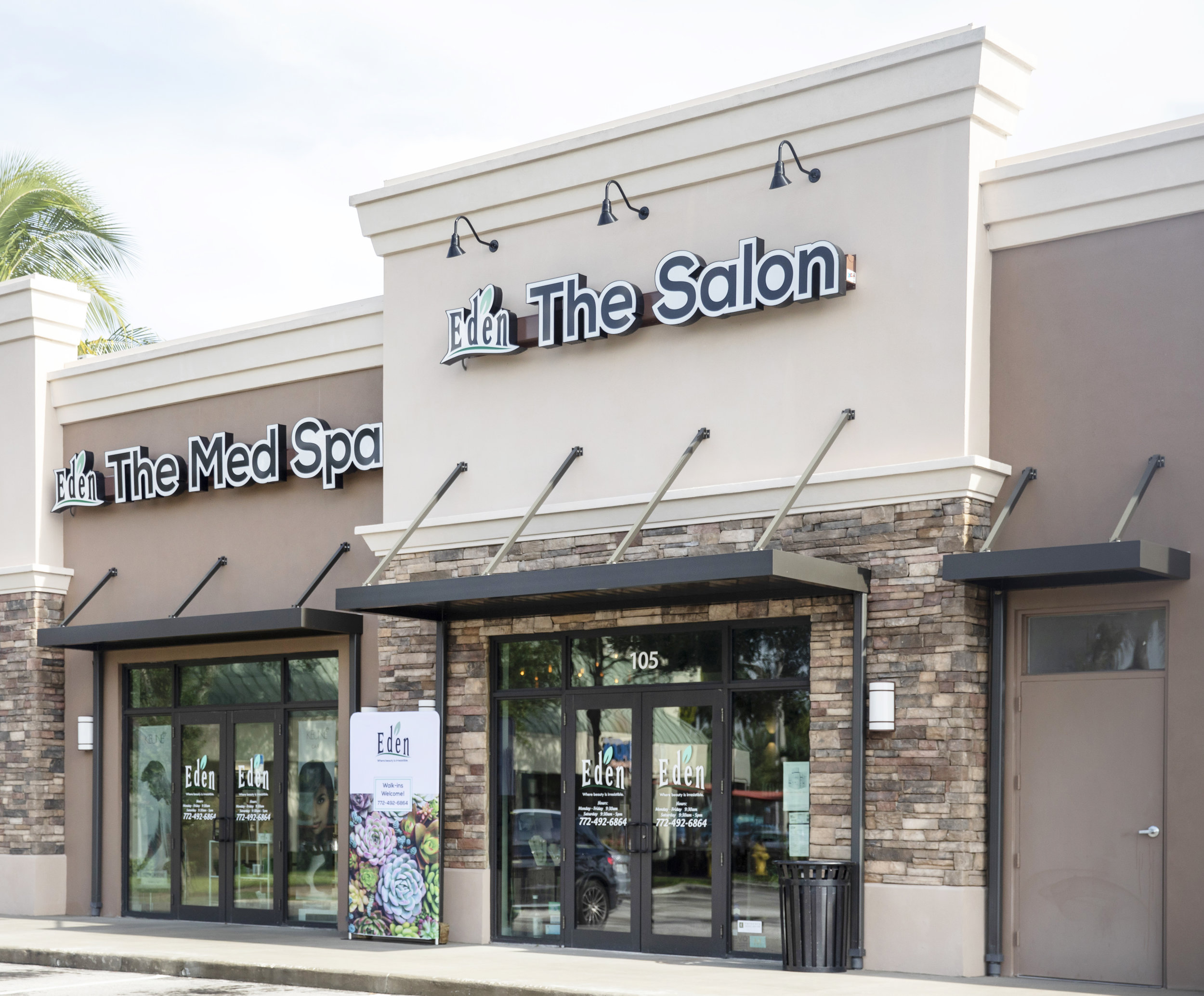 Vero Beach Hair Salon Photo Tour - Eden Salon & Med Spa