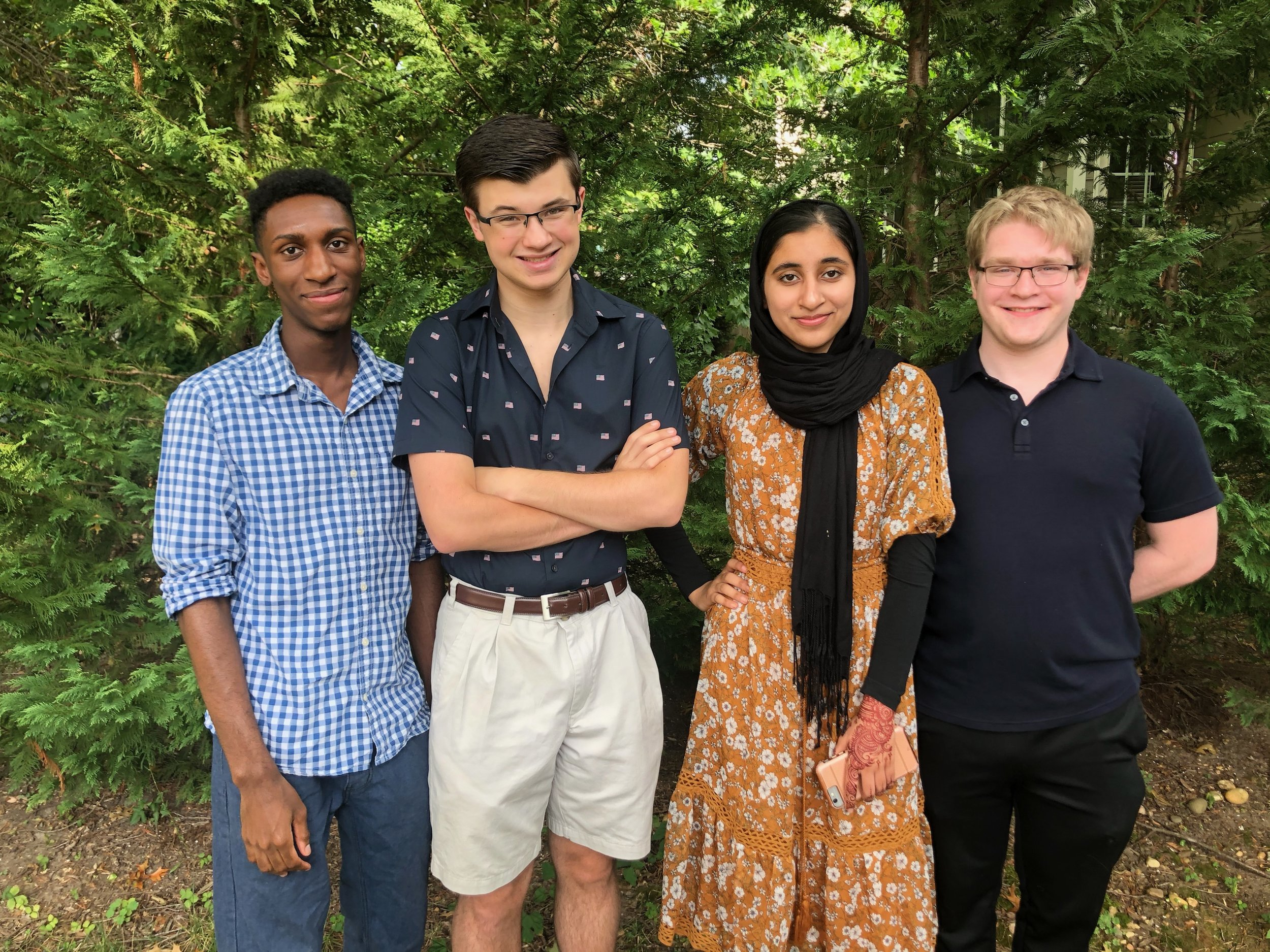 Our Team - Our founders hail from Alexandria, Virginia, a stone's toss from the nation's capital. All current or former students of West Potomac High School, the four share a close friendship and a mutual desire to make things better.To learn more about our team, click here.To apply for consideration for a position on Homoglobin's full-time staff, please click here.