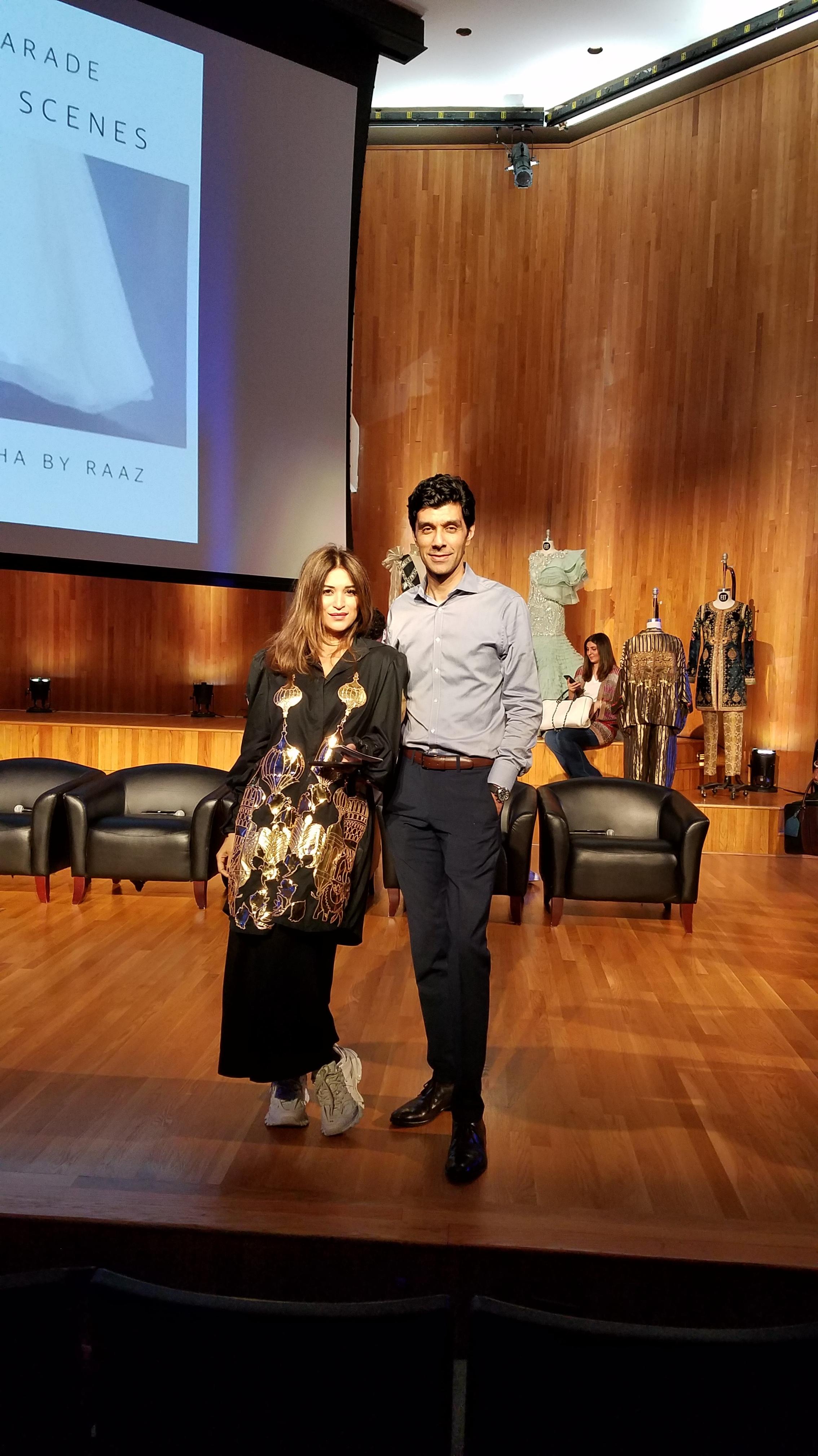 Panel on Pakistani Fashion at Fashion Institute of Technology
