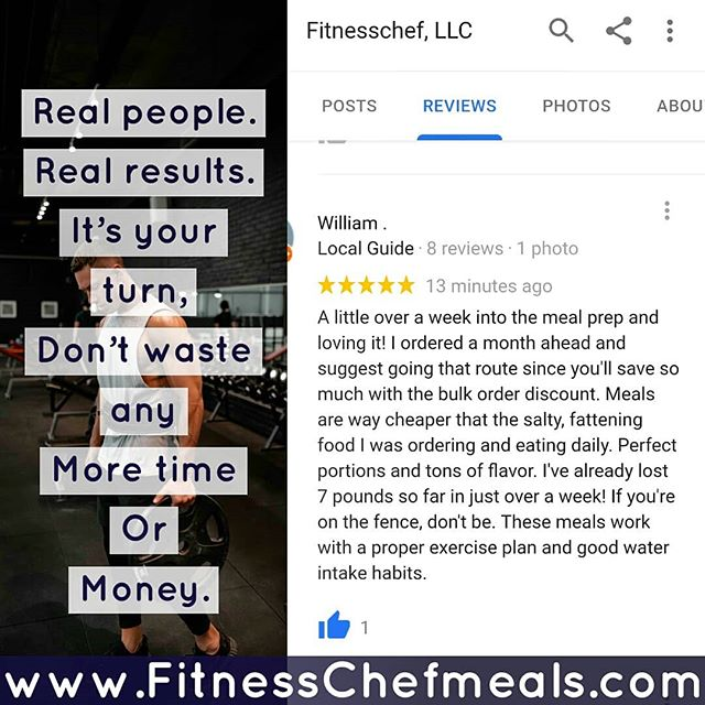 www.Fitnesschefmeals.com and place your order  Our customers are loving our meals. Loving the results and loving the way they save time and money. 💰💰💰💸💸💸🍜🍅🍆 Www.Fitnesschefmeals.com  #Health #EatClean #EatLocal #FitFood #HealthyEating #GetHealthy #HealthyLife #Nutrition #CleanEating #CalorieCounting #MealPrep #Baltimore #Gym #Fit #Gains #Instafood #Mealprep #Promo #Bodygoals #meals