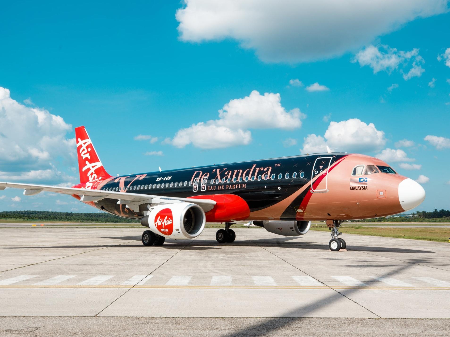 De'Xandra Livery for AirAsia