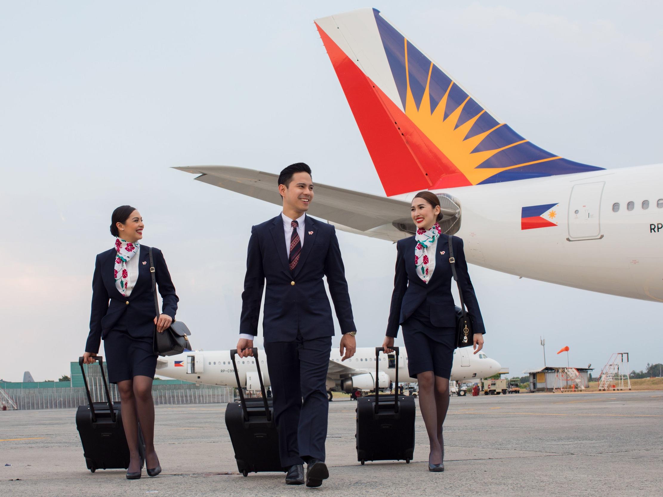 Philippine Airlines' Crew