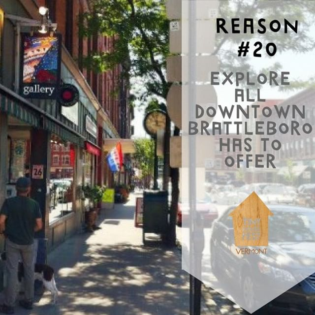Ditch the car for the day and walk the streets of Brattleboro, Vermont! You'll be pleasantly surprised by all the Fest and the City has to offer! There's many shops, restaurants, cafes to explore..oh! and the fest itself! All within walking distance of eachother:) See you there!  #tinyhouse #tinyhouesmovement #tinyhousefest #tinyhousefestival #brattleboro #vermont #vt #tinyhouseonwheels #tinyhousemovement #tinyhousevillage