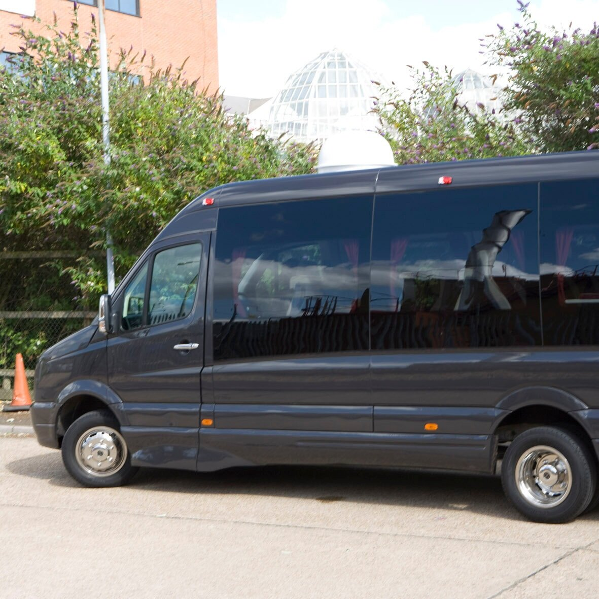 VIP MINIBUSES/COACHES - We provide superior executive chauffeur services specially designed for executive group travel.Our coaches are designed for the needs of the most discerning travellers, equipped to the highest standard, each with reclining leather seats, walnut conference tables, huge luggage capacity, air-conditioning, TV and DVD Media Systems, personal audio, climate control and lighting, 240v and 12v electrical charging points, Integrated Bluetooth communications system and on board satellite navigation, GPRS vehicle tracking to ensure maximum reliability and punctuality; and even an onboard refrigerator to keep your drinks ice cool.With an International PSV operators Licence we can cater for any event or transfer, from an individual airport transfer, scenic tour, transfer to a society event, wedding or an as-directed touring throughout Europe.There is no finer way to travel as a group.> Enquiry form > Email bookings@prestigecarsandcouriers.co.uk> Book Online