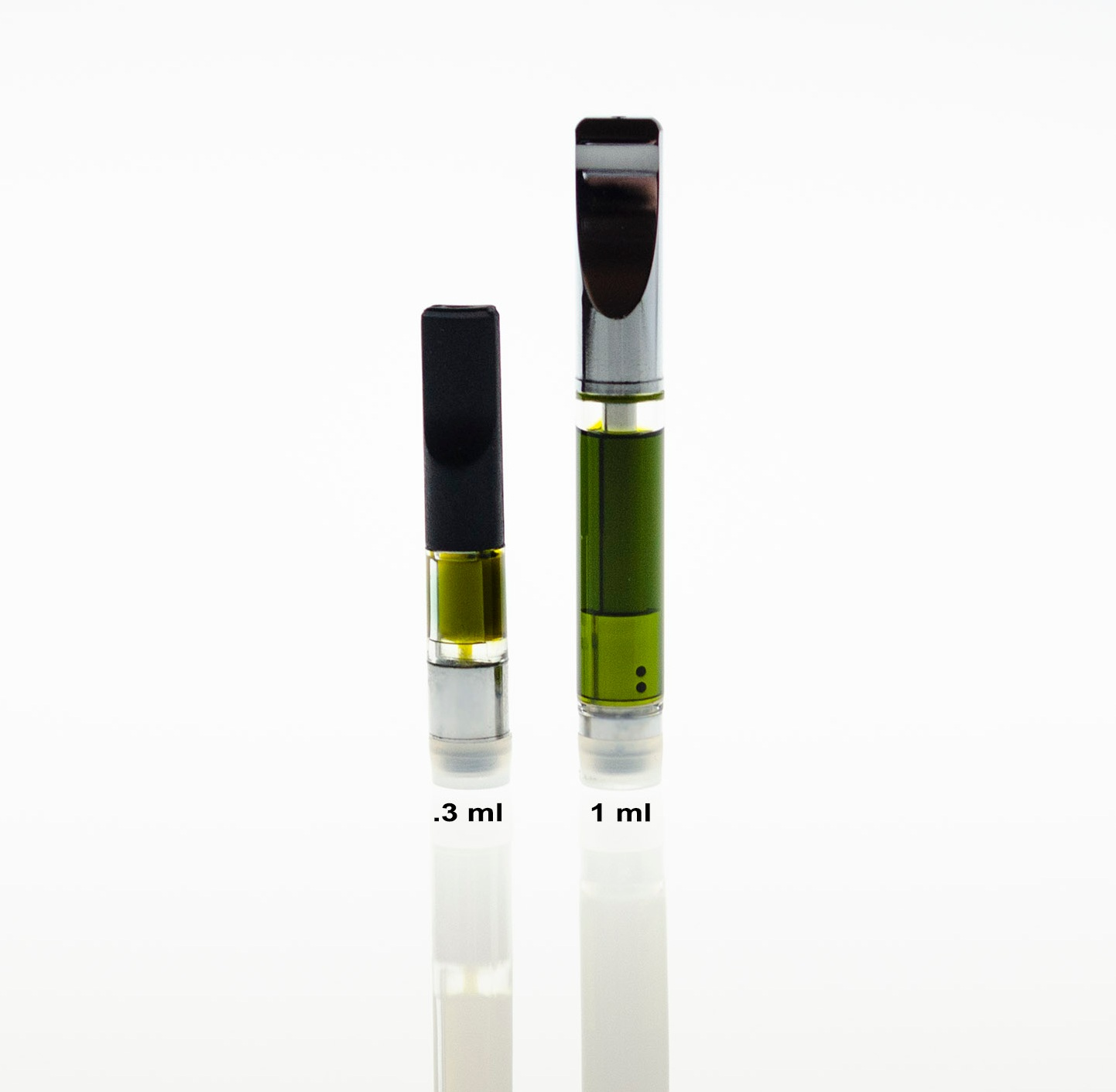 Vape Cartridges - Available in .3mL and 1mL. New strains coming soon.