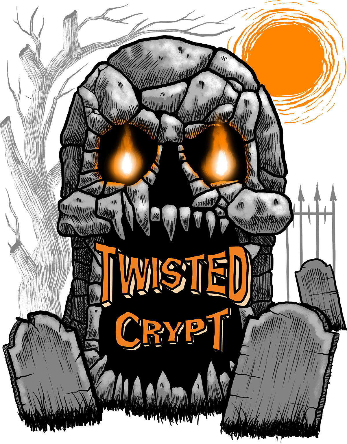 About Twisted Crypt - Twisted Crypt is about to enter it's 7th season!Twisted Crypt Haunted House is 10,000 Square Feet of Indoor Mystery, Chaos, and Fear.  10 Interactive Show Rooms, Sights, Sounds, Smells, and Creatures Lurking Around Every Corner.  Will you be able to escape?