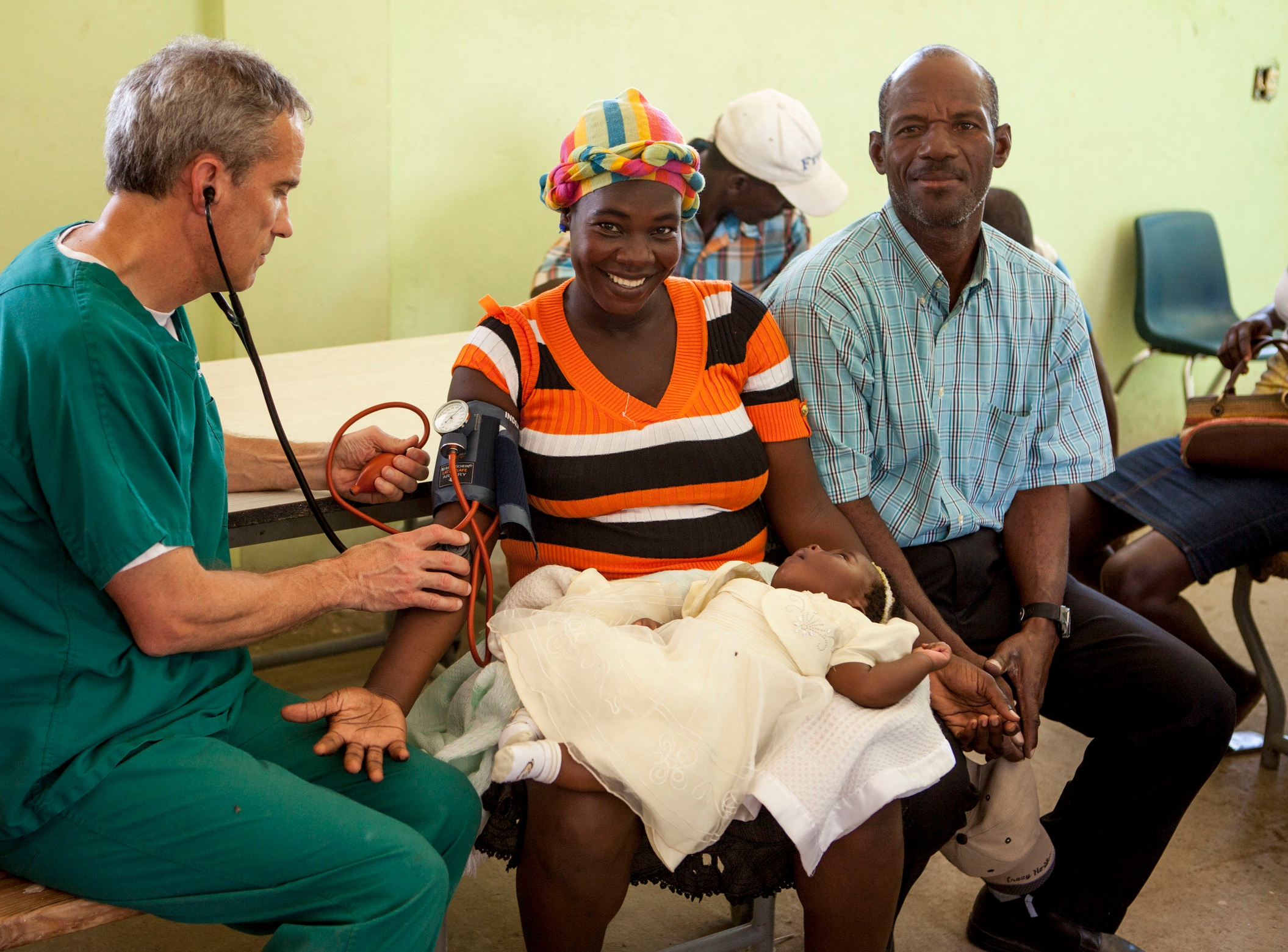 THROUGH OUR MEDICAL TRIPS, - an average of 1,300 to 1,500 patients are treated annually.