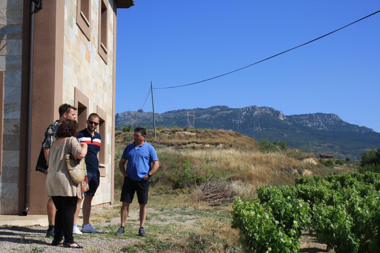 På besøg hos Vina Ane i Rioja Alta.