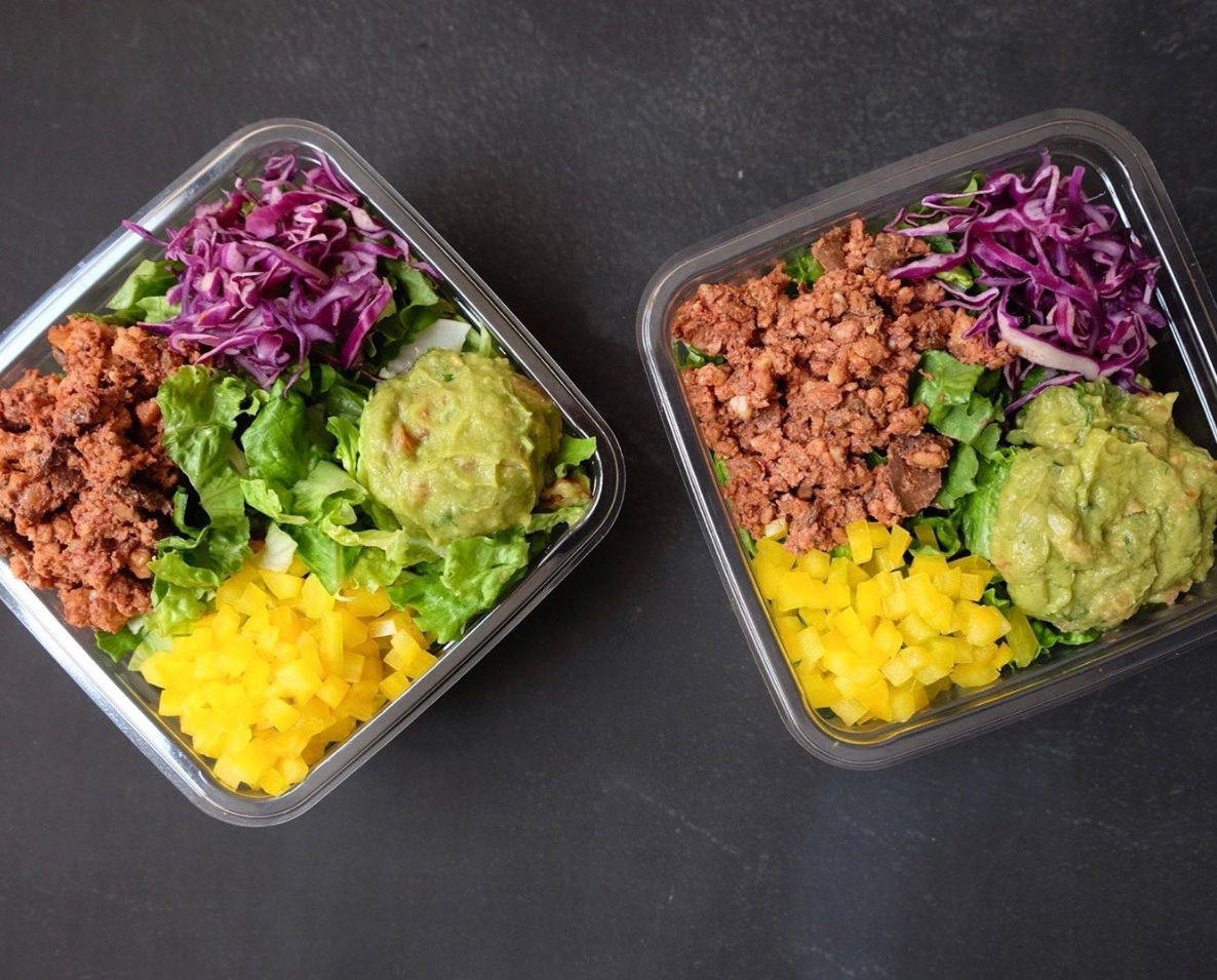 Our Keto Friendly Walnut Taco Salad has only 9g Net Carbs and 10g Protein!