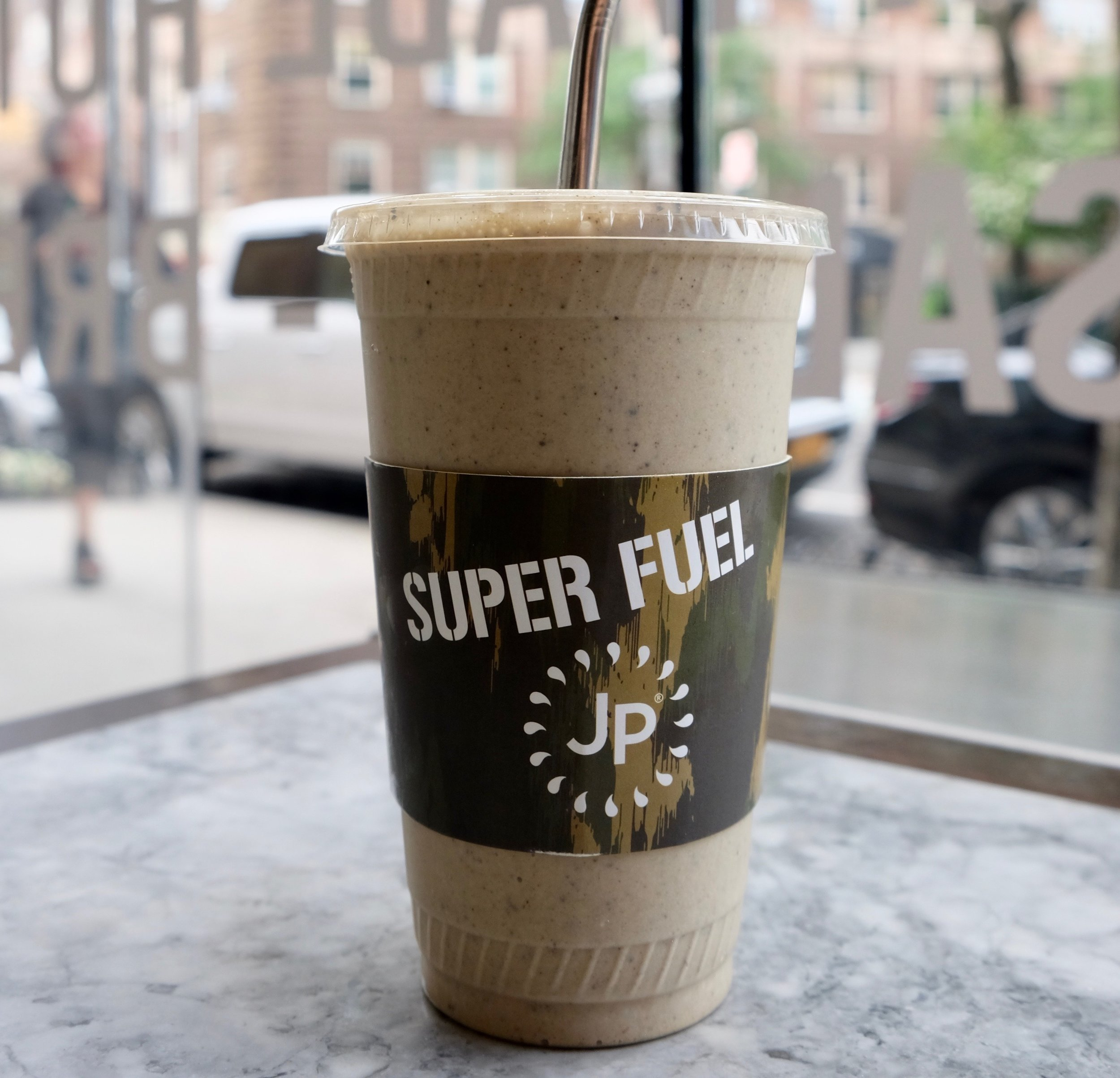 Vanilla Protein with Coffee Beans