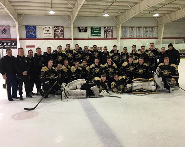 Thanks to everyone who made the @armywp_clubhockey 2018-19 season a success. Great final effort from the boys and good luck to the remaining teams in the post season. #goArmy #ADGTH