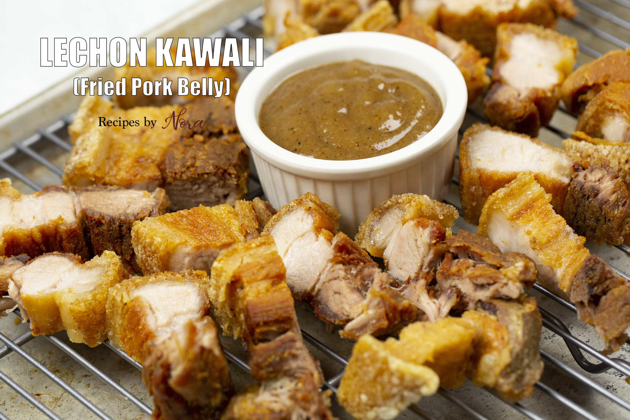 Lechon Kawali Fried Pork Belly Recipes By Nora