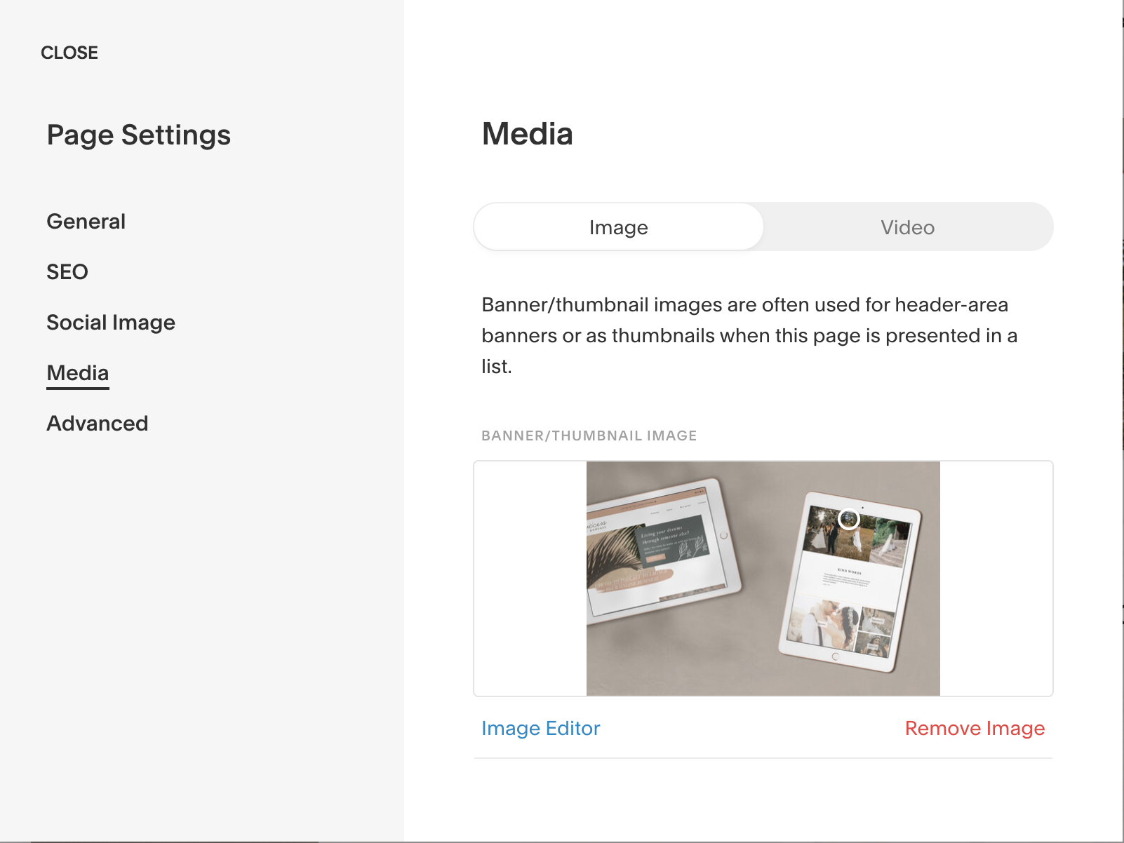What Is An Index Page In Squarespace Creations By Faria Squarespace Website Design
