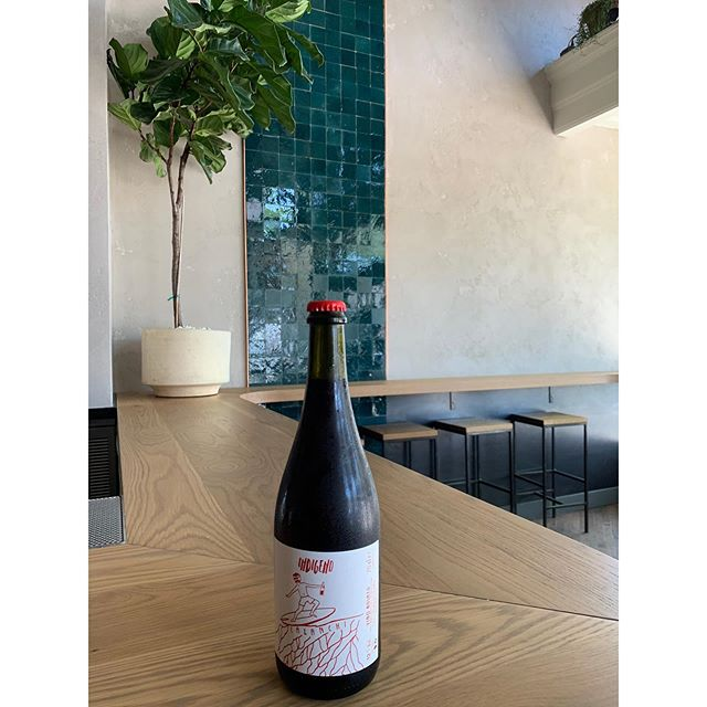 @cantinaindigeno 's  Calanchi🍷 A rosé thats dark in color but bright in vibes. California dreaming on the Adriatic Sea.  Sooooogoooooodd & soooooo #nattywine Come by and crush this baddie by bottle 😈