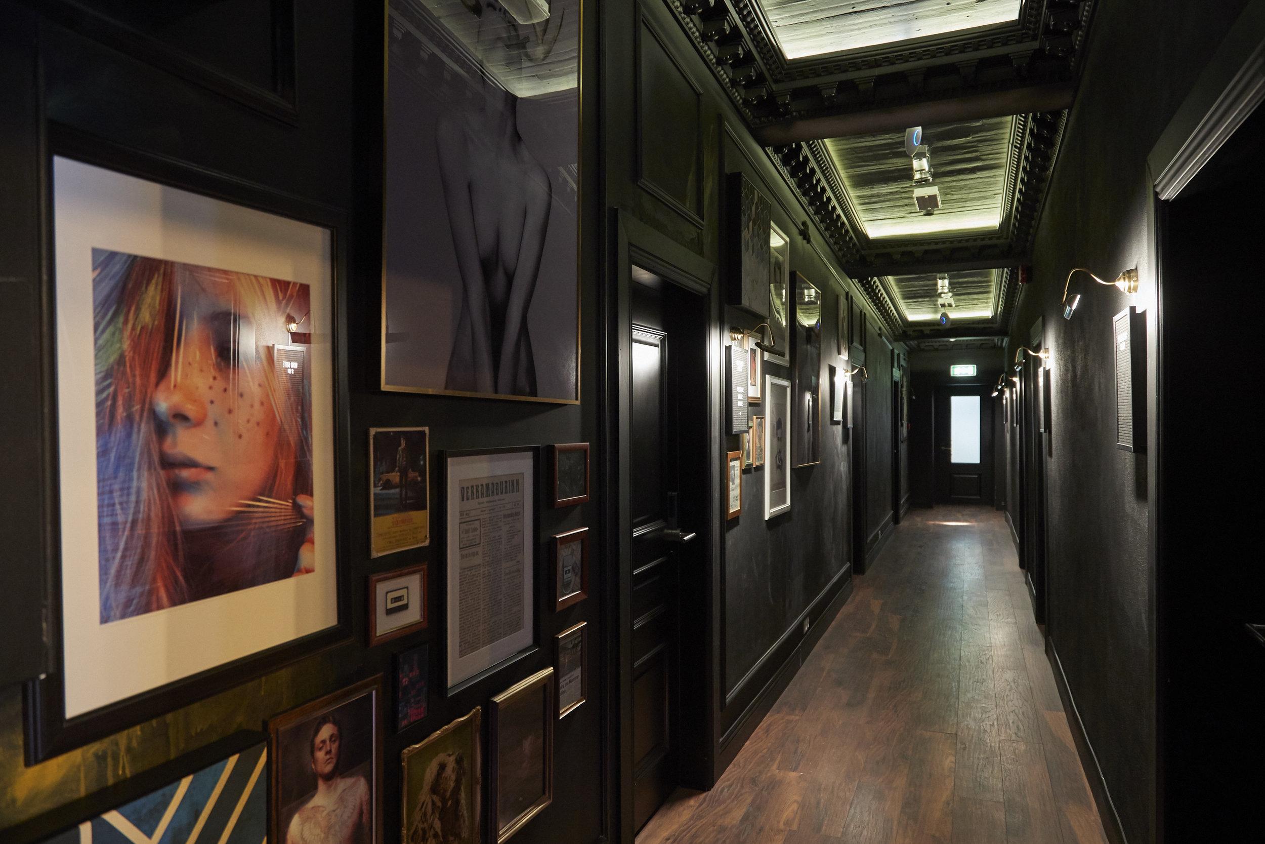 1st Floor Corridor - Dynheimar