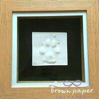 raisedimpression dog paw framed.jpg
