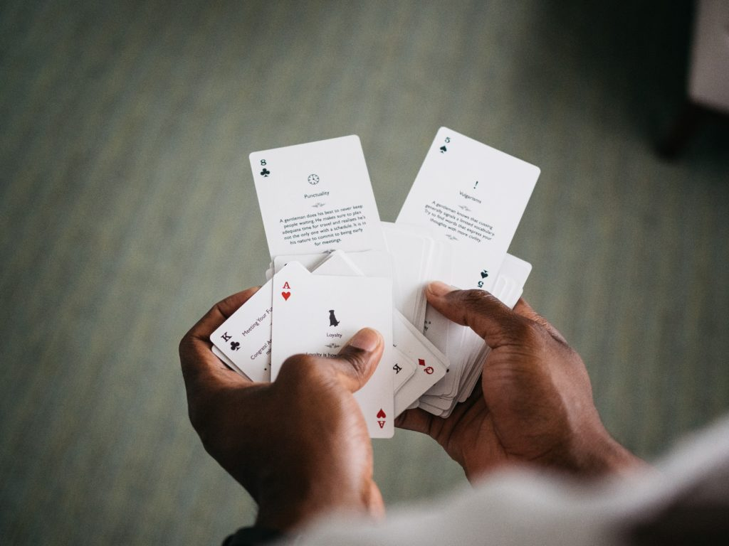 Being an effective feedback dealer requires more than having the cards. Photo by The Creative Exchange on Unsplash