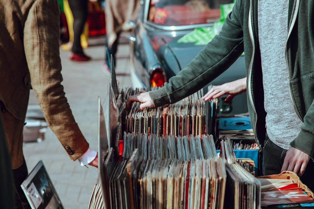 Sure, vinyl is coming back in with the hipsters, but are they really listening to the filler tracks? Photo by Clem Onojeghuo on Unsplash