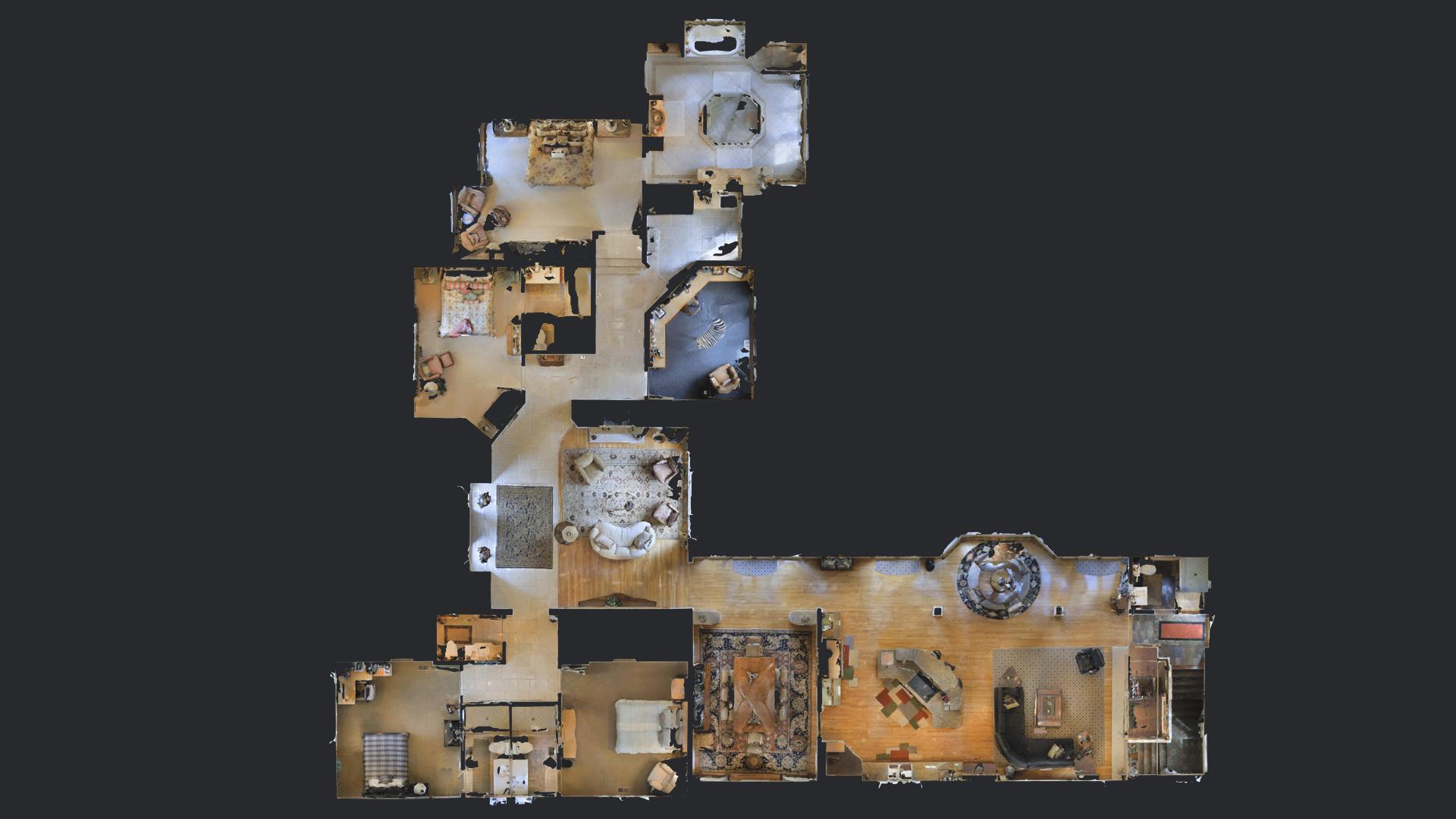 Matterport Showcase Floorplan View