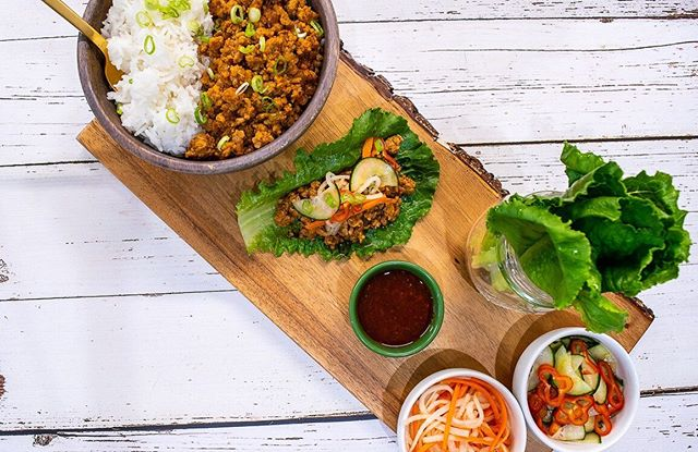 Back from Summer vacation and gearing up for another amazing year 🥳 Introducing Thai Chicken Lettuce Wraps 👀