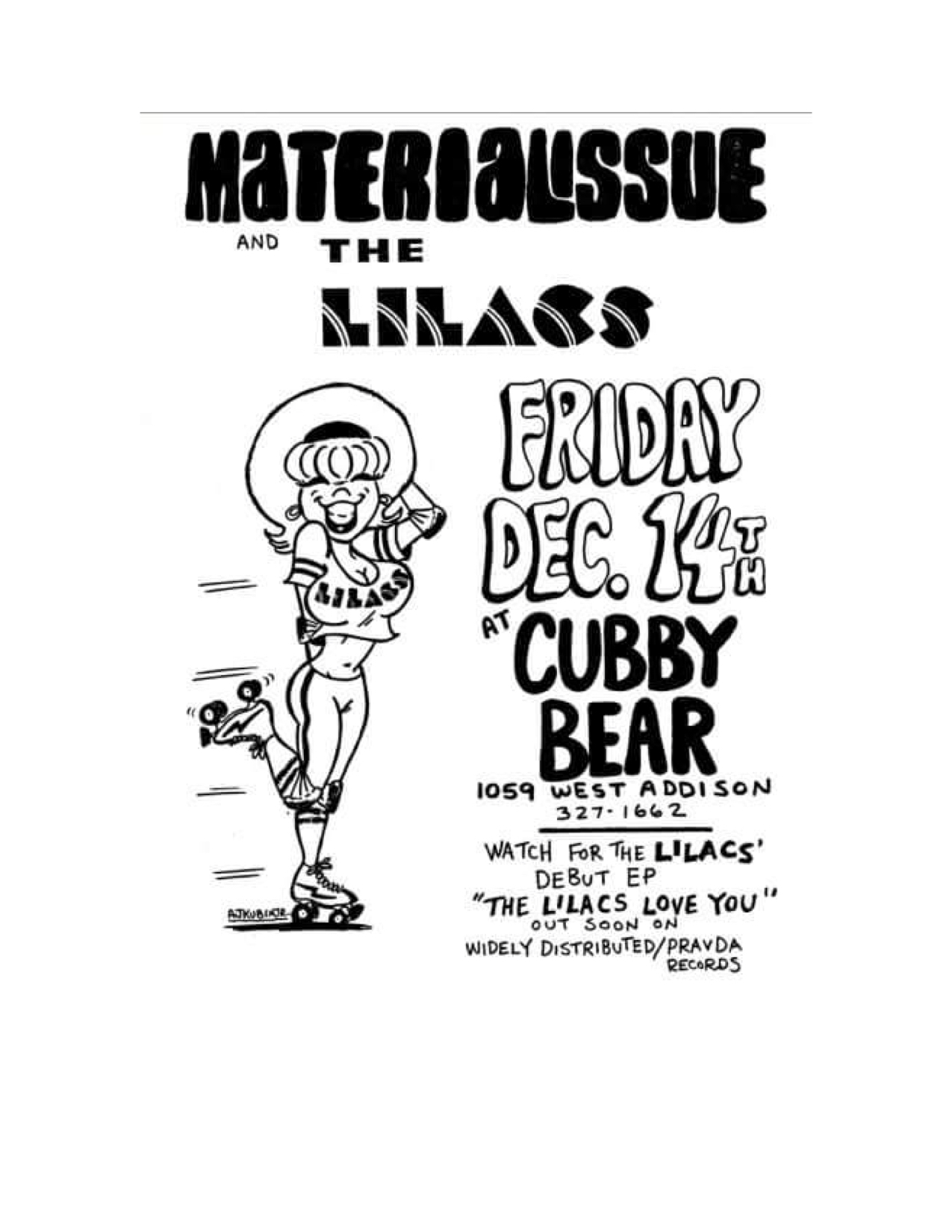 The Lilacs Poster 4 (Material Issue Cubby Bear).jpg
