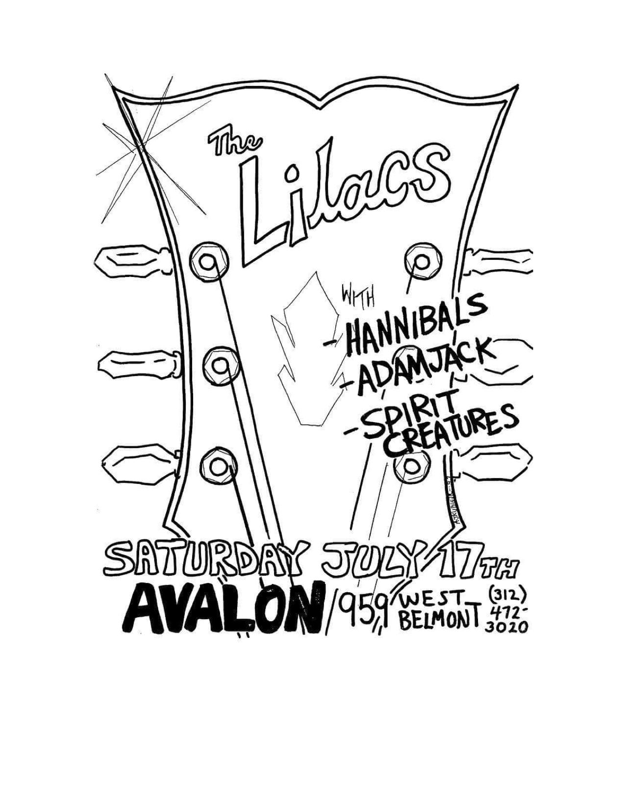 The Lilacs Poster 24 (Hannibals, Adamjack, Spirit Creatures).jpg