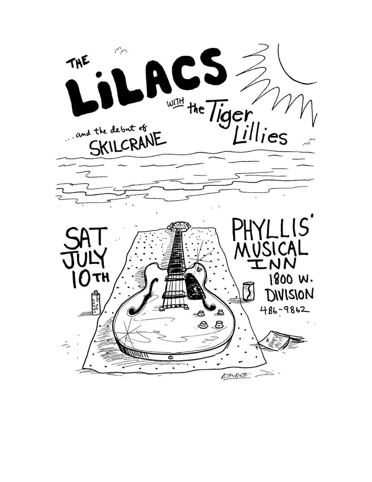 The Lilacs Poster 27 (Skilcrane, Tiger Lillies).jpg