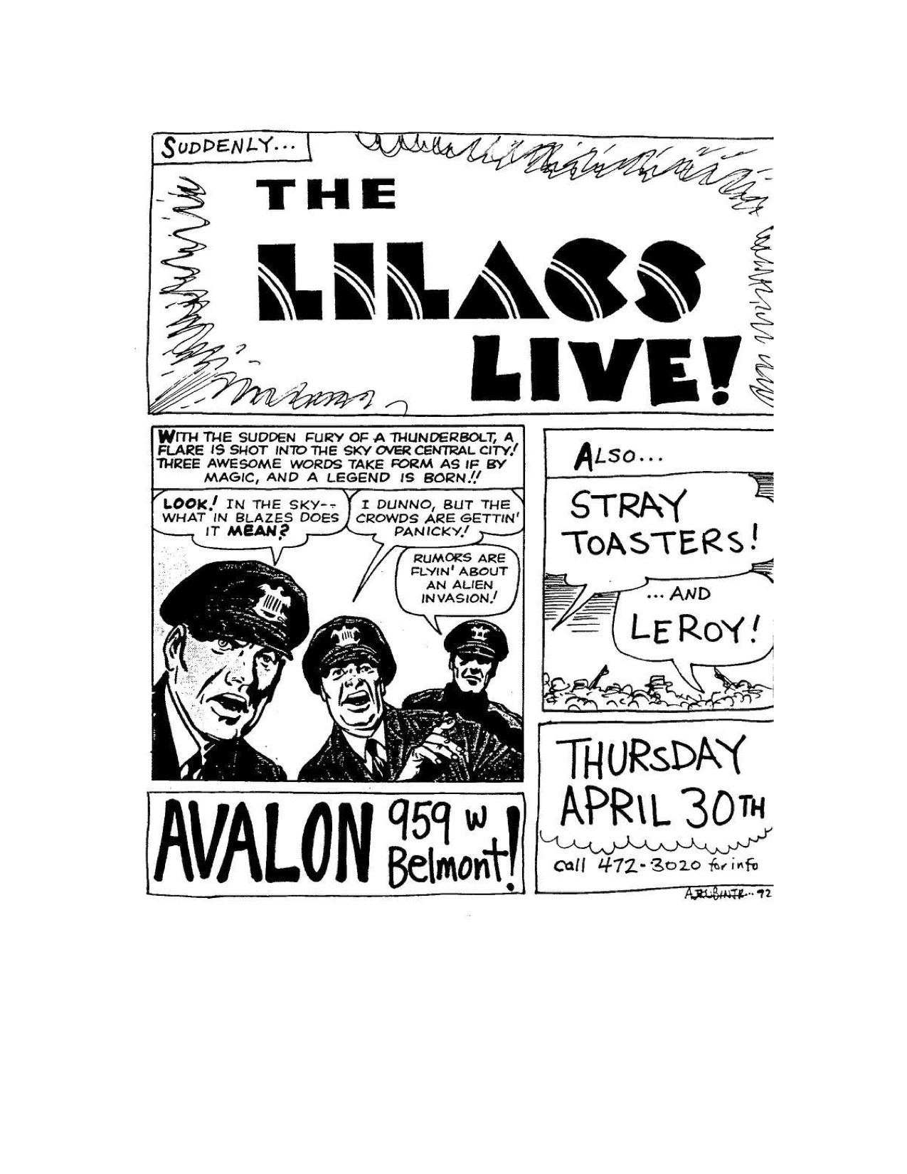 The Lilacs Poster 28 (Stray Toasters, LeRoy).jpg