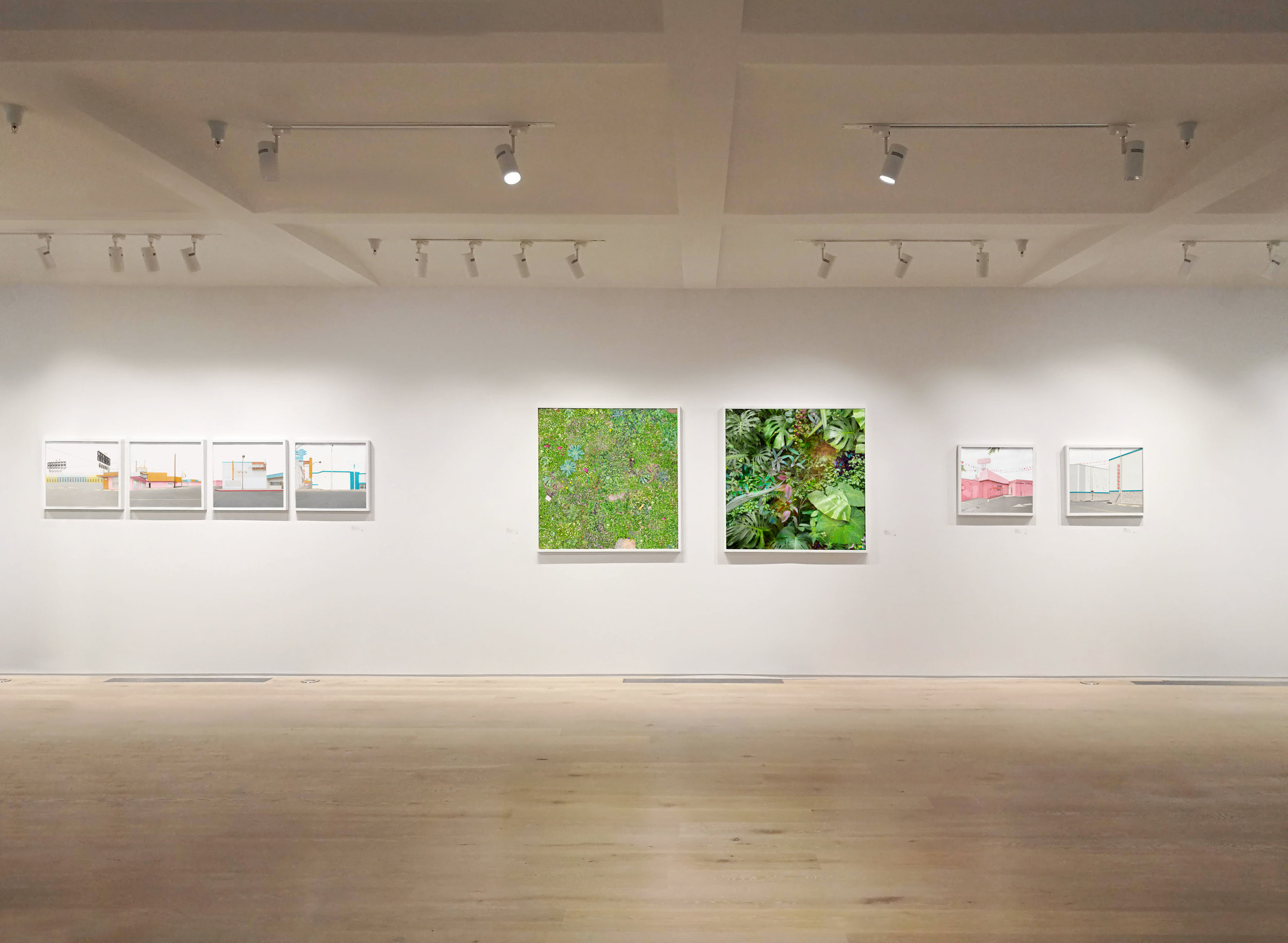 Installation View,  This Place  exhibition at Pictura Gallery, Bloomington, IN, 2019