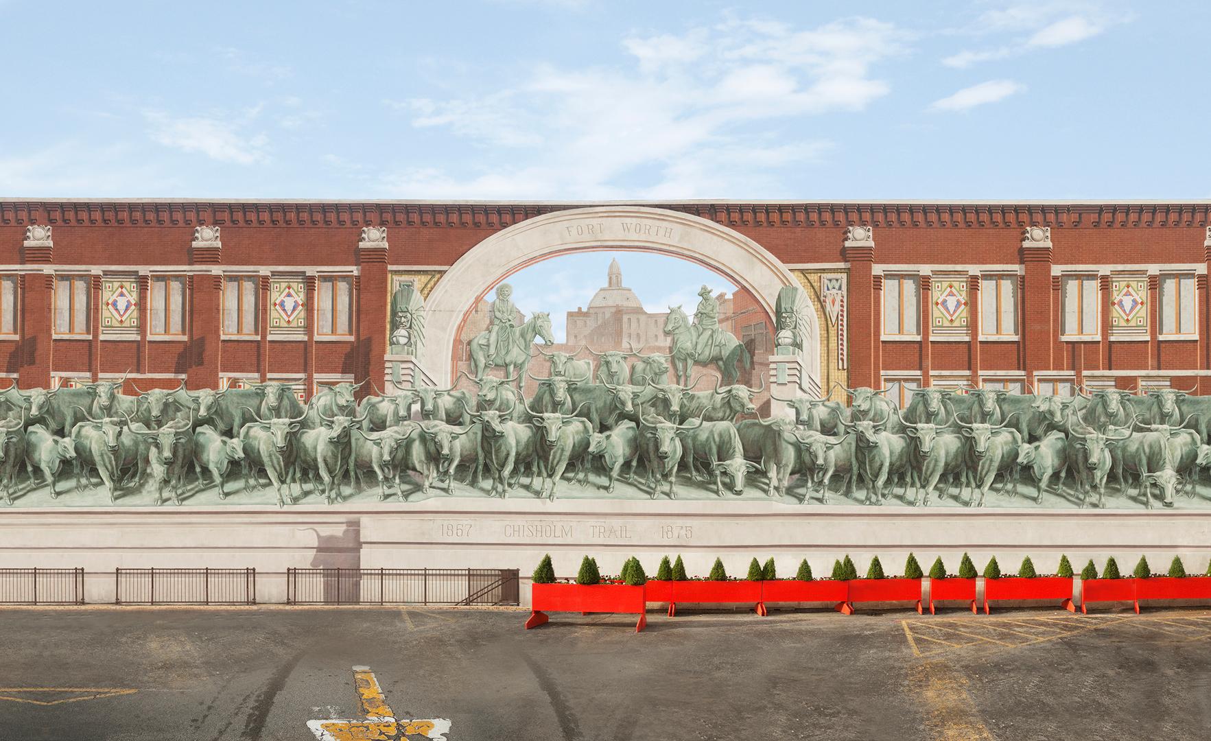 S undance Square , 25 x 40 inches, archival pigment print, 2011