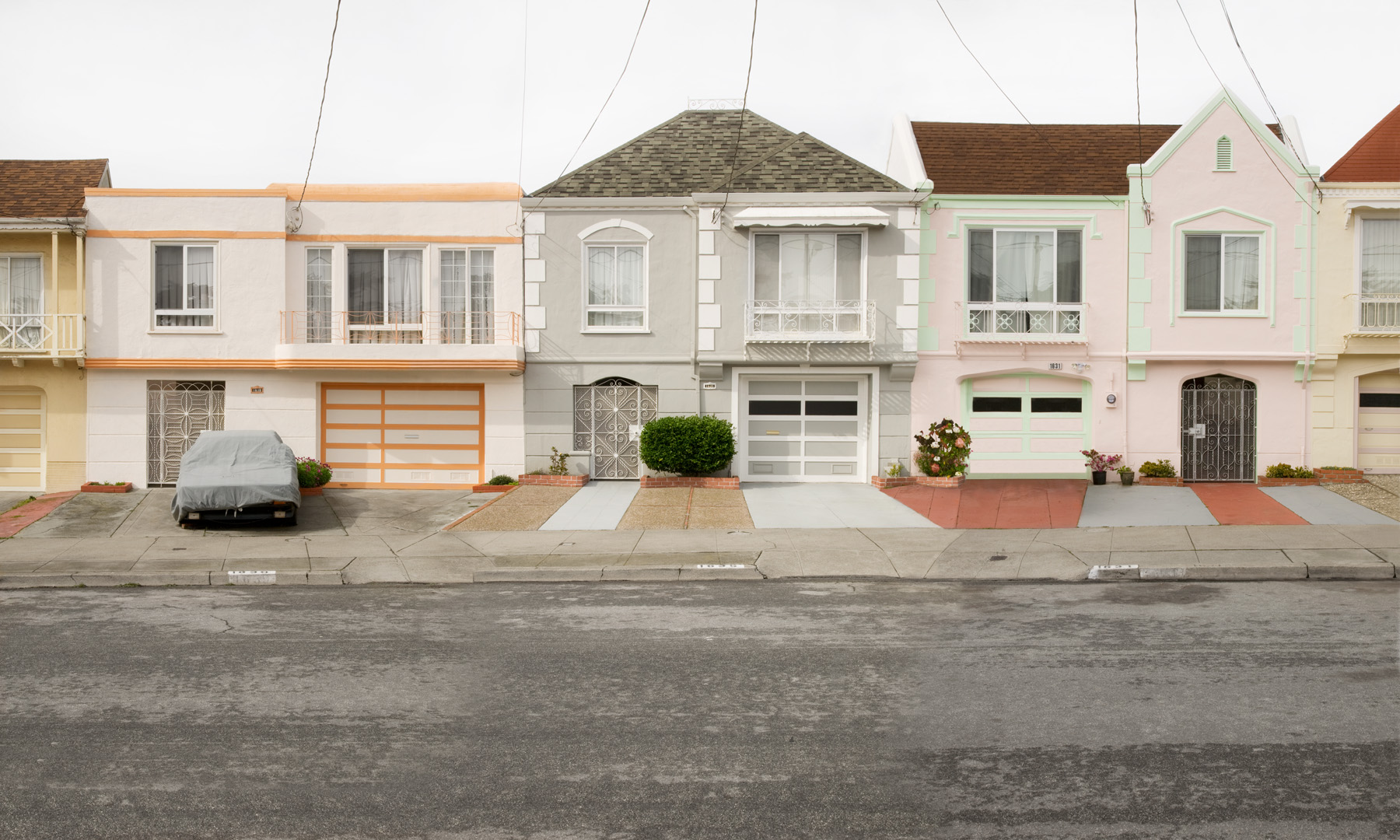Airy Street , 24 x 40 inches, archival pigment print, 2009