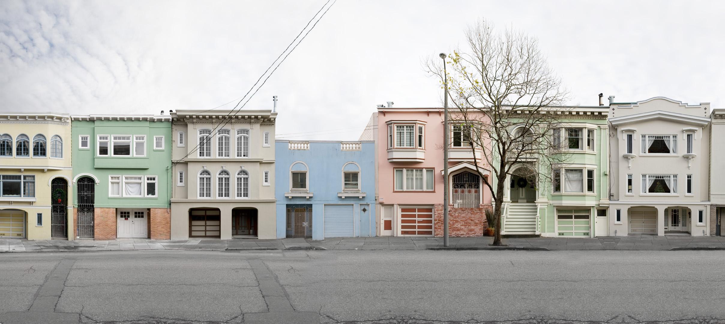 Fulton Street,  24 x 54 inches, archival pigment print, 2009