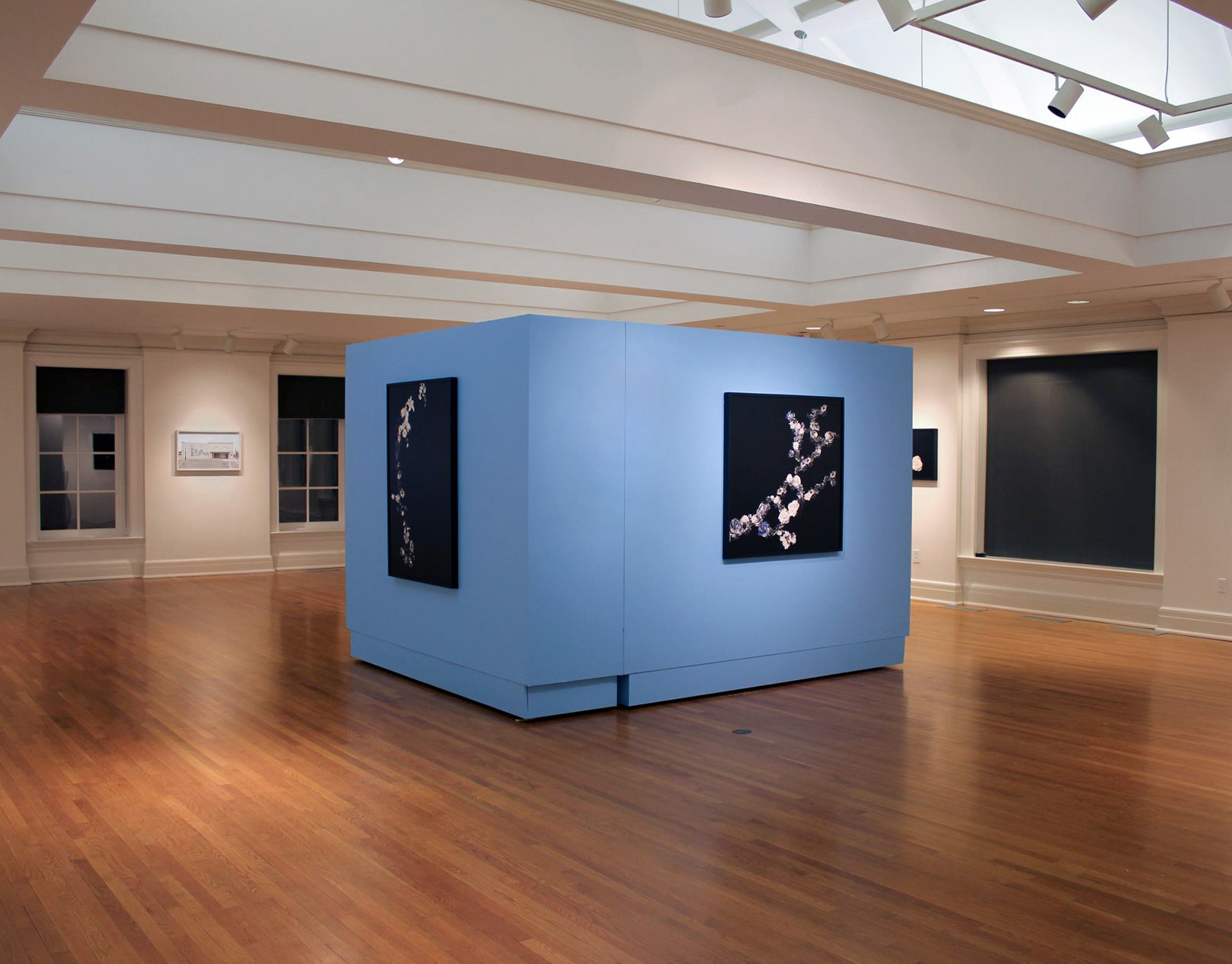 Installation view,  Manifest Destiny , at the Tremaine Gallery at the Hotchkiss School, Lakeville, CT, 2013