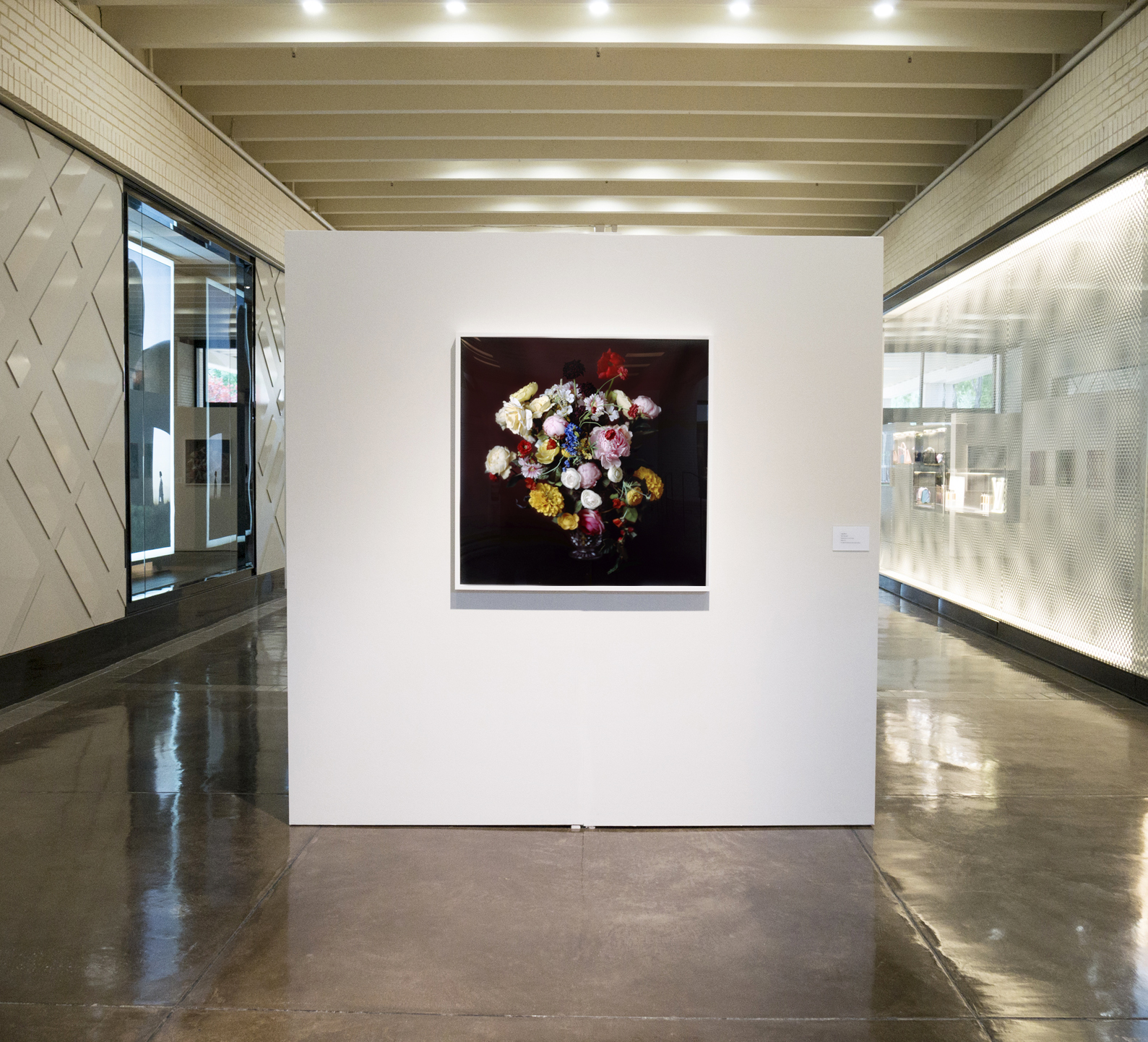 Installation view,  Brown Bouquet  in  Flower Power  exhibition at NorthPark, Dallas, TX, 2017