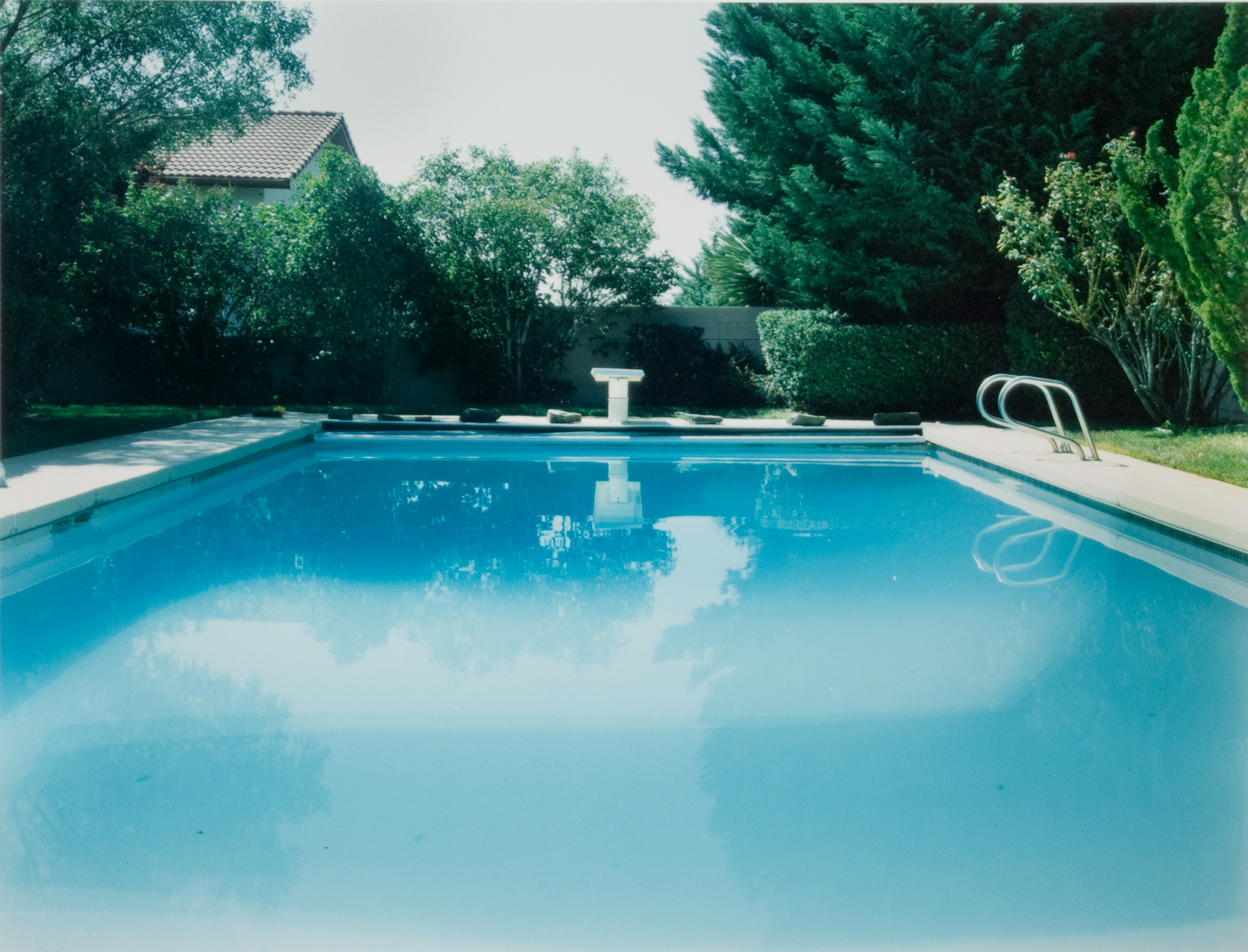Pool 2 , Chromogenic Print, 8 x10 on 16 x 20 paper, 2001
