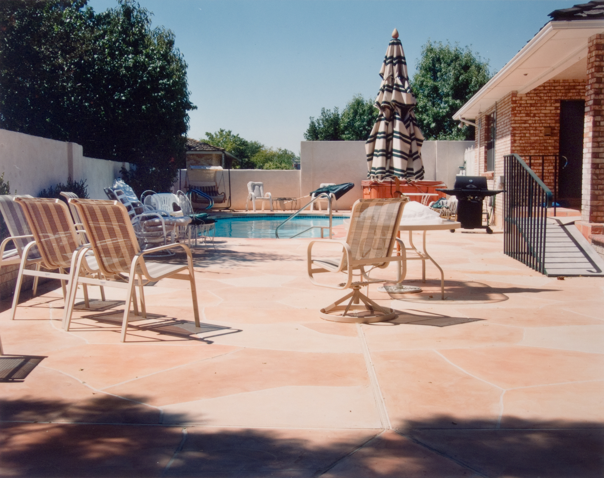 Pool 3 , Chromogenic Print, 8 x10 on 16 x 20 paper, 2001