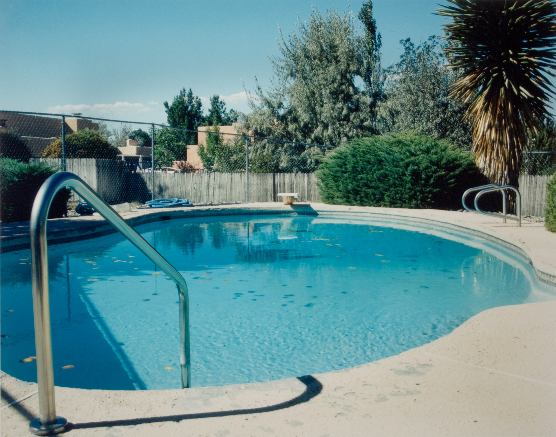 Pool 20 , Chromogenic Print, 8 x10 on 16 x 20 paper, 2001
