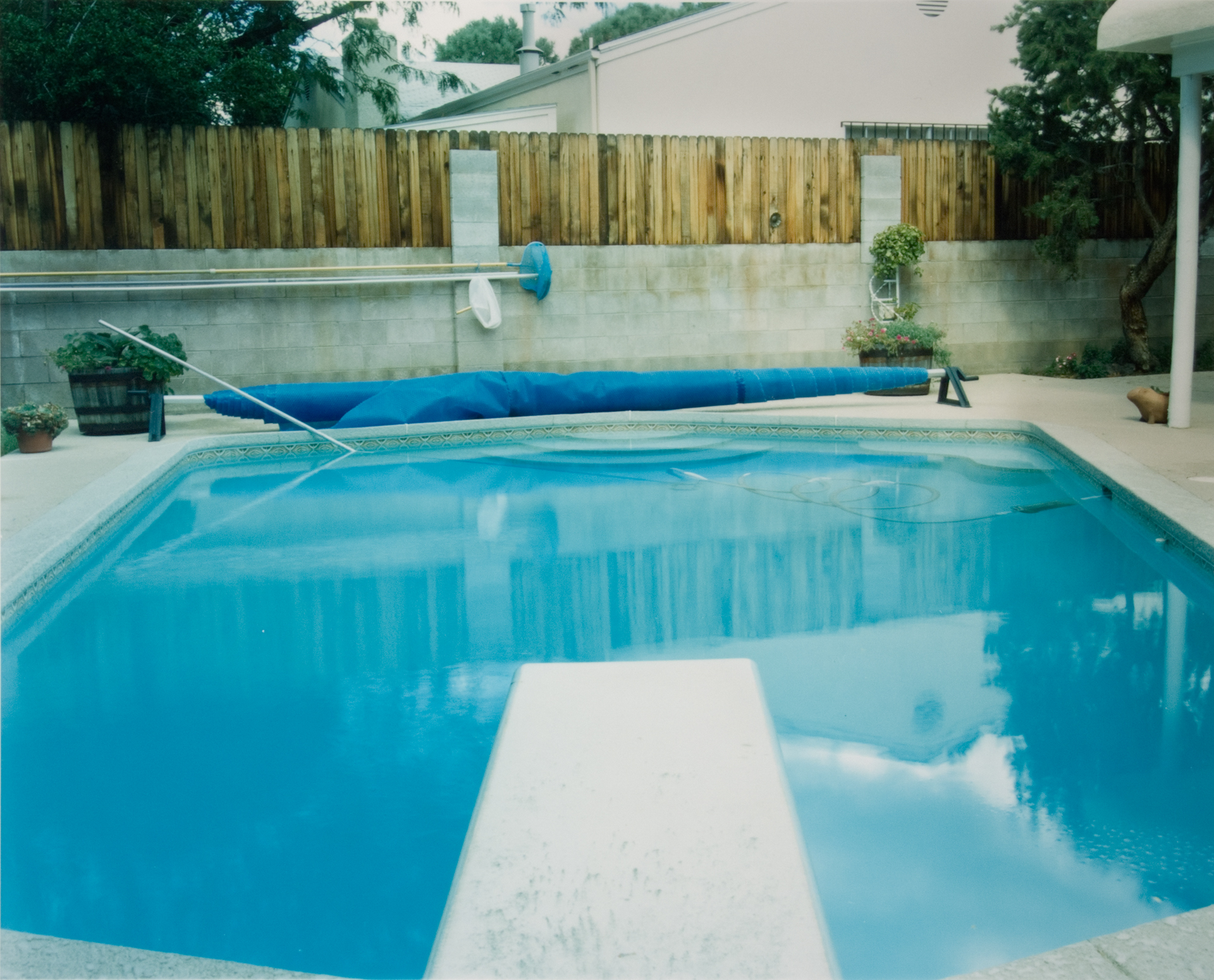 Pool 6 , Chromogenic Print, 8 x10 on 16 x 20 paper, 2001