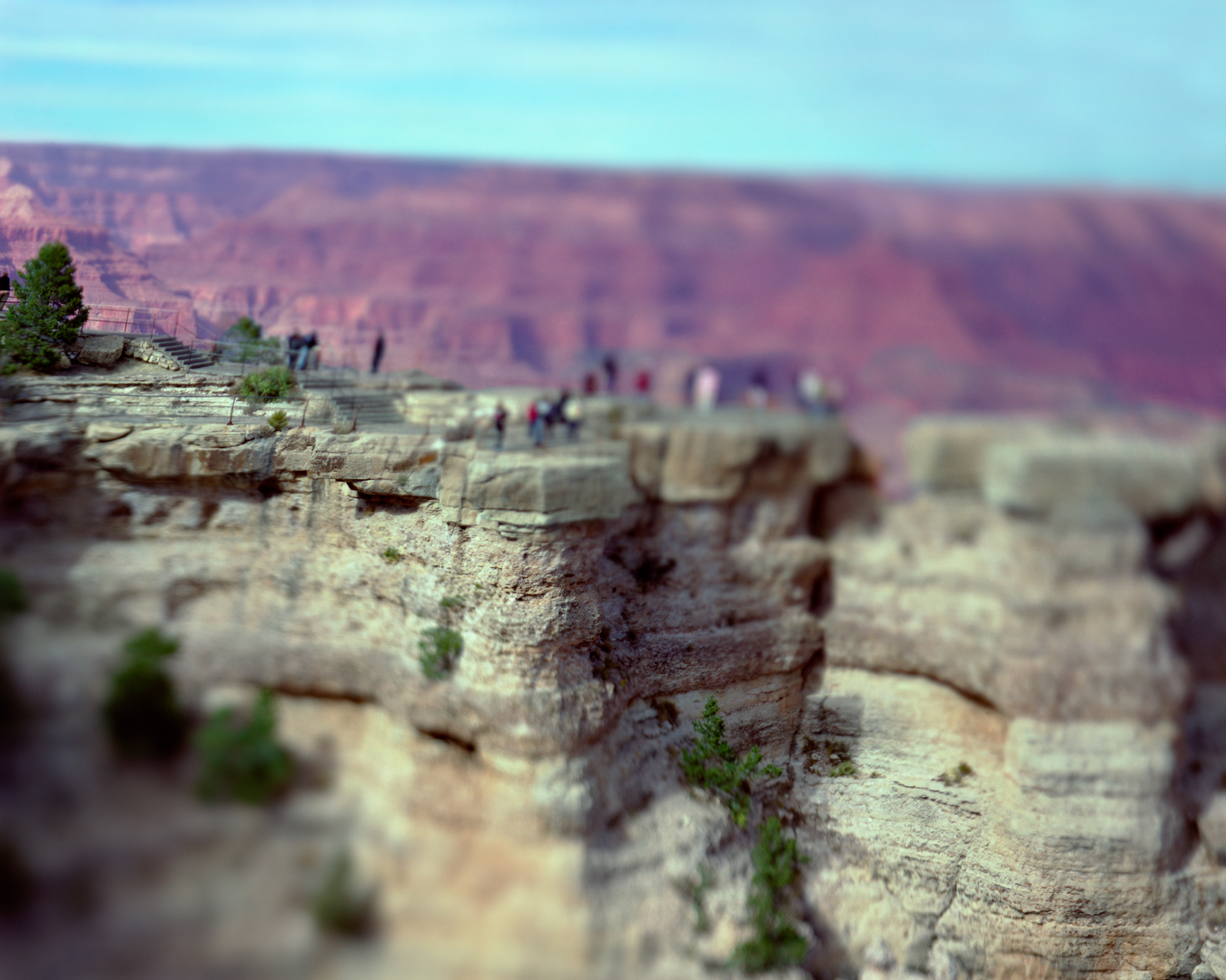 Mather Point, Grand Canyon,  Clarendon Hotel, 2007