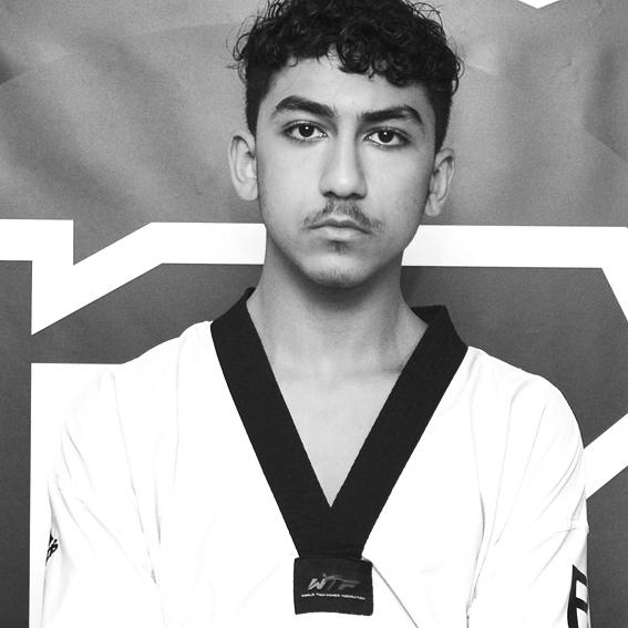 Abdo Sheriff  Studerande Lic Taekwondo Coach STU Tränare minior, kadett Svart bälte 1 Dan Svensk Mästare kamp, Svenska Landslaget  HLR ABC Hjärt & Lungrädning
