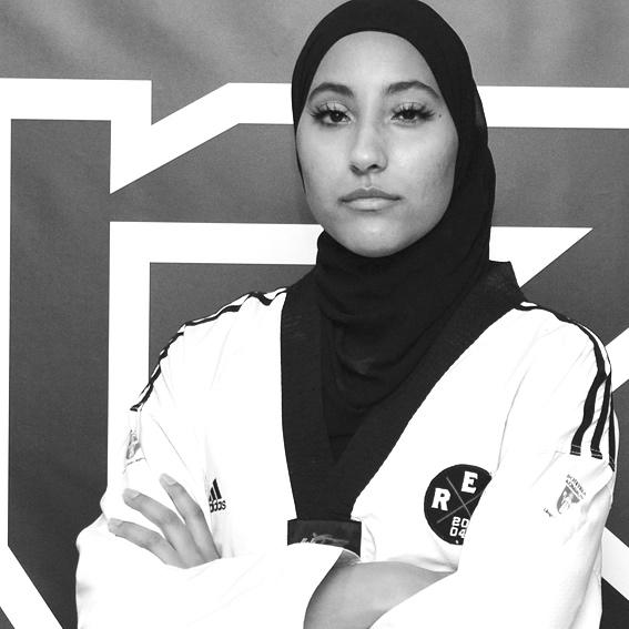 Aisha Trokic  PT Personlig Tränare   Studerande södertörn Idrottslärare Lic Taekwondo Coach STU Ansvarig Tjej träning Tränare minorer, kadetter Svart bälte 1 Dan HLR ABC Hjärt & Lungrädning