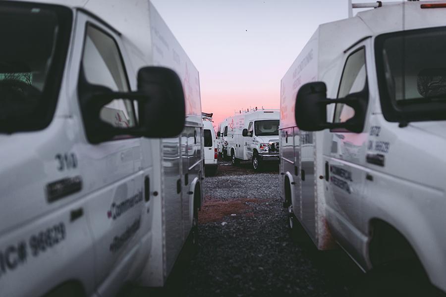 Air Comfort Solutions vans