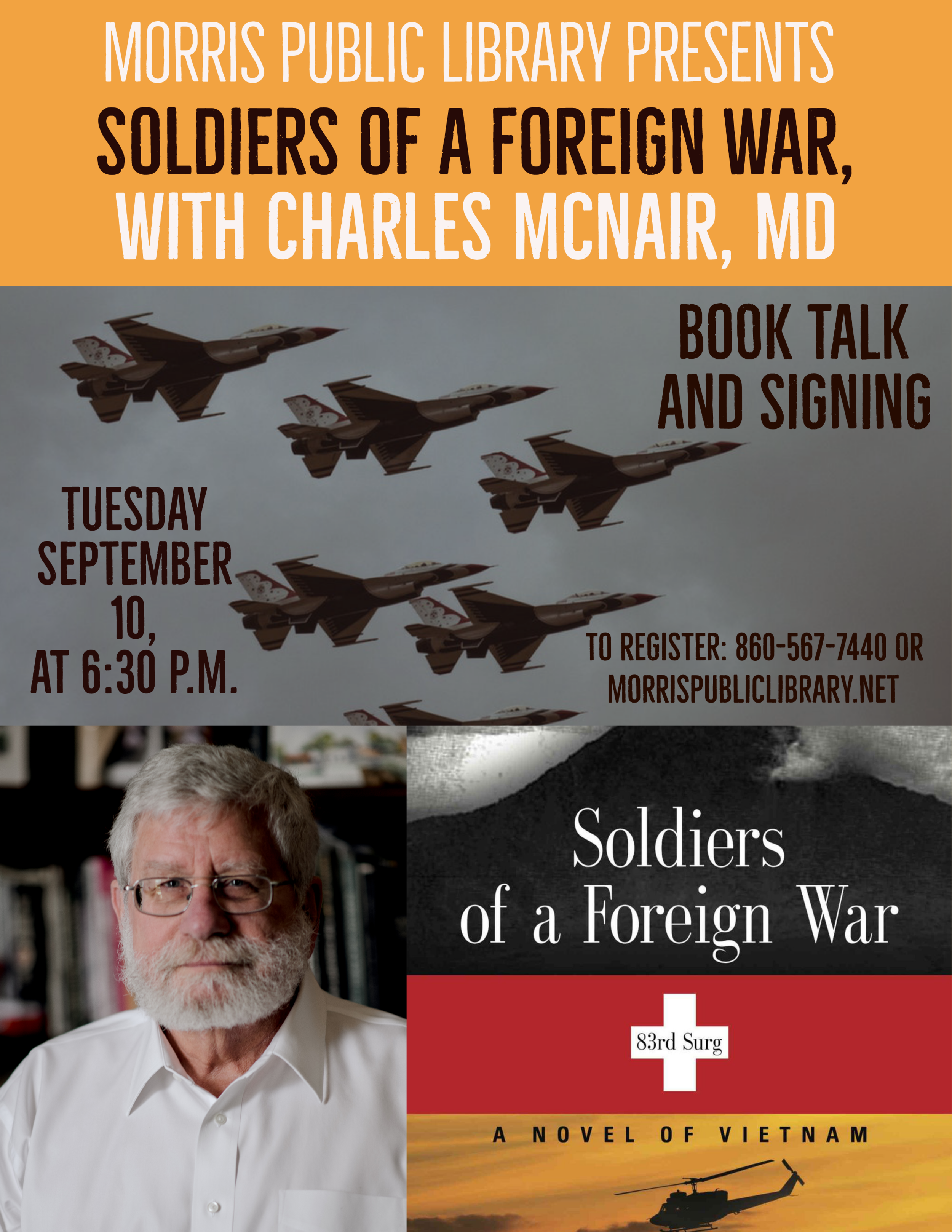 Soldiers of a Foreign War, Morris Public Library.png